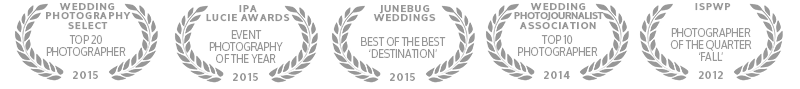 wedding photo awards